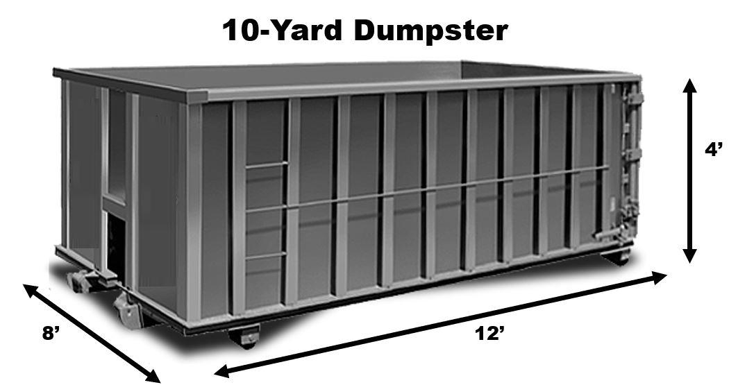 10 Yard Dumpster Rental in Houston TX