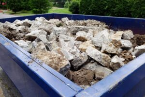 Concrete Dumpster in Houston TX